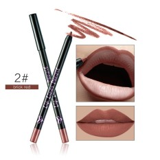 Huamianli 12 Colors Professional Lipliner Makeup Waterproof Lip Liner Pencil - intl Philippines