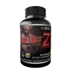 IgniTEST-Z with Zinc for Men's Health and Vitality (60 Capsules)