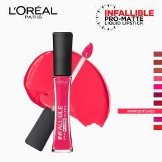 Infallible Pro-Matte Gloss Liquid Lipstick - Aphrodite Kiss 306 [#NeverFail] by LOréal Paris Philippines