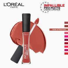 Infallible Pro-Matte Gloss Liquid Lipstick - Bare Attraction 318 [#NeverFail] by LOréal Paris Philippines