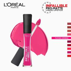 Infallible Pro-Matte Gloss Liquid Lipstick - Fuchsia Amnesia 302 [#NeverFail] by LOréal Paris Philippines