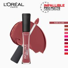 Infallible Pro-Matte Gloss Liquid Lipstick - Nude Allude 314 [#NeverFail] by LOréal Paris Philippines
