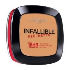 Infallible Pro-Matte Pressed Powder - 500 Sun Beige [#NeverFail 16HR Longwear] by LOréal Paris Philippines
