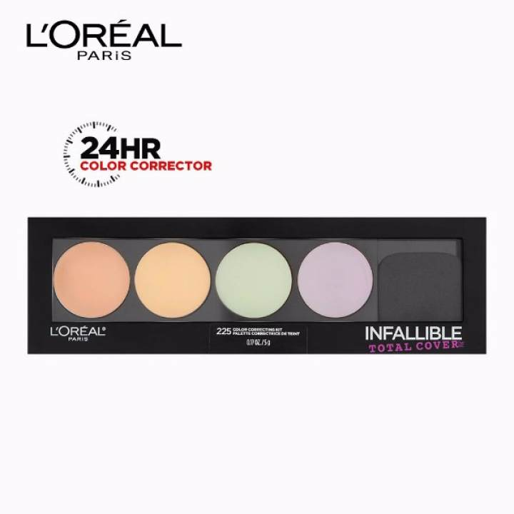 Infallible Total Cover All-in-1 Color Correcting Kit [#GotYouCovered] by L'Oréal Paris