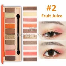 J&C Korea NOVO 10 Colors Eye Shadow Palette #5135 Philippines