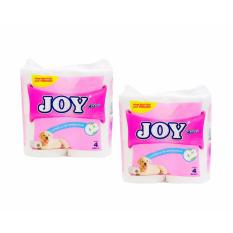 Joy Extra 4 Rolls/ 2 Ply Bathroom Tissue 2S 254605w33 Philippines
