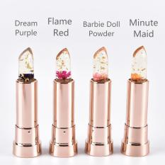 kailijumei floral jelly lipstick with gold specks (set of 4)