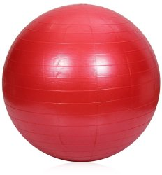 Keimav Exercise Fitness Aerobic Ball 65cm (Red)