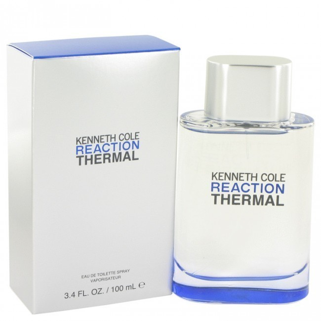 Kenneth Cole Reaction Thermal Eau De Toilette for Men 100ml product preview, discount at cheapest price