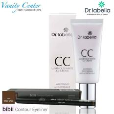 KOREA Dr labella CC Cream Anti UV-SPF30/PA++ and EXY bibii Contour Eyeliner Package1 Philippines