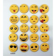 Korean Emoji Smile makeup sponge air cushion powder puff (cool) Philippines