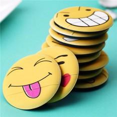 Korean Emoji Smile makeup sponge air cushion powder puff (closed eyes tongue out) Philippines