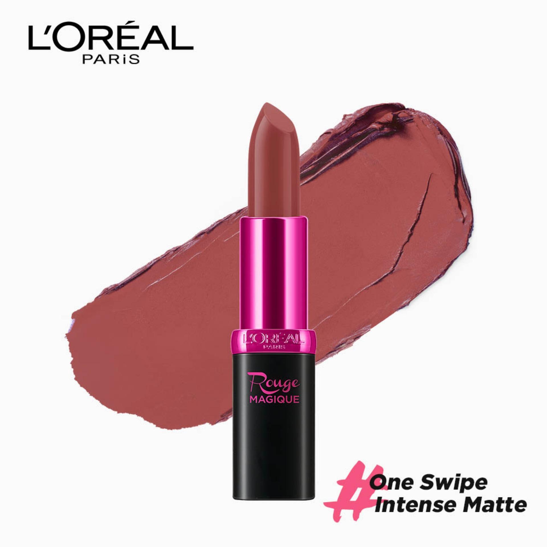 Rouge Magique Matte Lipstick - Mont Blanc 932 [#OneSwipeIntenseMatte]  by LOréal Paris Color Riche Philippines
