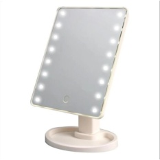 LED Vanity Makeup Mirror with Lights Table Lamp & Cosmetic Mirror (WHITE) Philippines