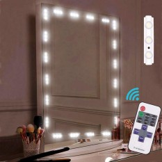 leegoal Makeup Mirror Light Strip, Cosmetic Vanity Mirror 60 Leds Light With Remote Control,152cm/5ft(EU) - intl Philippines