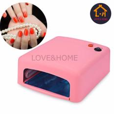 LOVE&HOME 36W UV Lamp 220V EU Plug Curing Light Nail Tools (Pink) Philippines