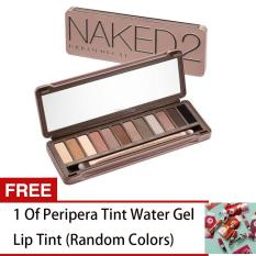 LOVE&HOME NK 2 Palette 12 Colors Make-up Set FREE 1 Peripera Tint Water Gel Lip Tint (Random Colors) Philippines