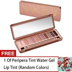 LOVE&HOME NK 3 Palette 12 Colors Make-up Set FREE 1 Peripera Tint Water Gel Lip Tint (Random Colors) Philippines