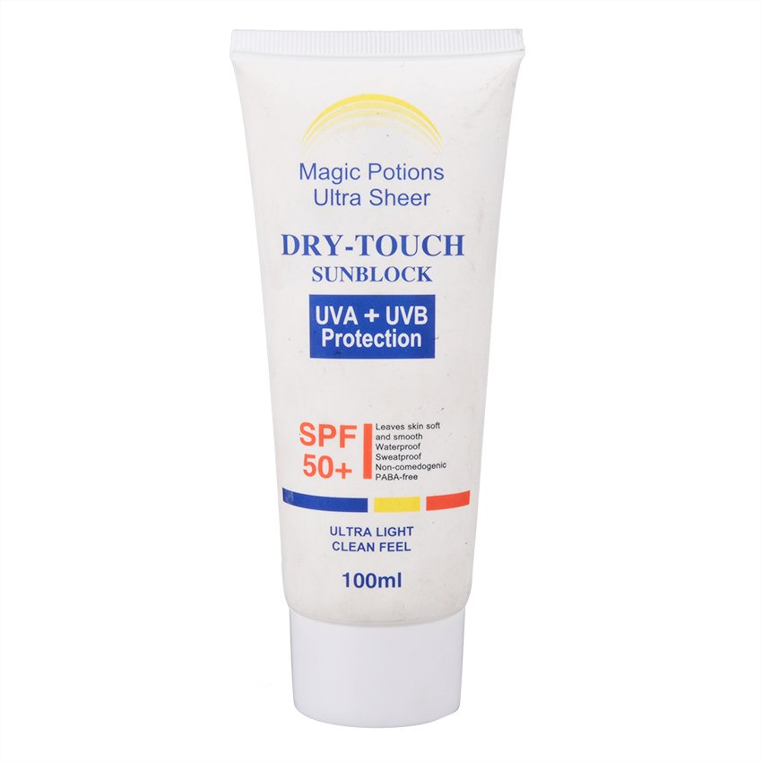 Magic Potions Ultra Sheer Dry-Touch Sunblock SPF 50 100ml product preview, discount at cheapest price