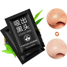 Makeup Beauty Tool 2Pcs Blackhead Remover Black Mud Deep Cleansing Purifying Peel Acne Face Mask Foxloom
