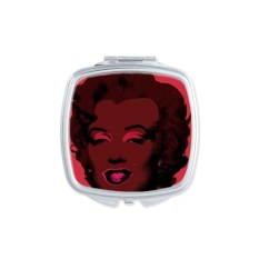 Marilyn Monroe Popular Pop Art Picture Andy Warhol Neorealismo Design Illustration Pattern Square Compact Makeup Pocket Mirror Portable Cute Small Hand Mirrors - intl Philippines
