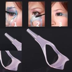 Mascara Eyelash Comb  Helper Guide Card Tool(Pink) Philippines