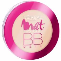 Mat Magique BB Veil Pressed Powder - N2 Nude Ochre SPF32 PA+++ [12HR Matte] by LOréal Paris Philippines