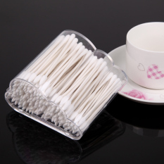 MEGA Cloud Cotton Swab Q-tip Storage Holder Box Cosmetic Container Makeup Case - Intl Philippines