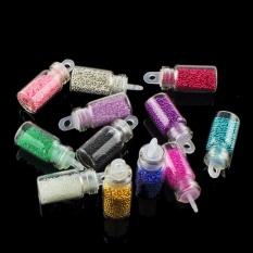 Mermaid Nail Gradient Pearls Sequins Glitter Dazzling Manicure Nail Art Decorati - intl Philippines