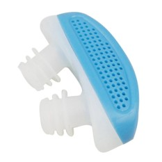 Mini 2 in 1 Relieve Nasal Congestion Snoring Nose Breathing Apparatus Stop Snoring Devices Silicone Ventilation