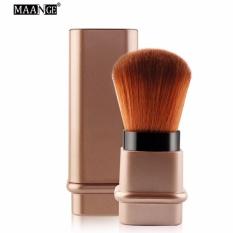 Retractable Makeup Brush Mini Make Up Brush Portable Travel Brush Powder Foundation Blush Face Makeup Brush (Rose Gold) Philippines