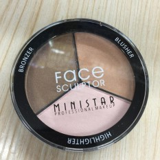 Ministar Professional Make Up Face Sculptor (Highlighter, Blush and Bronzer) Philippines