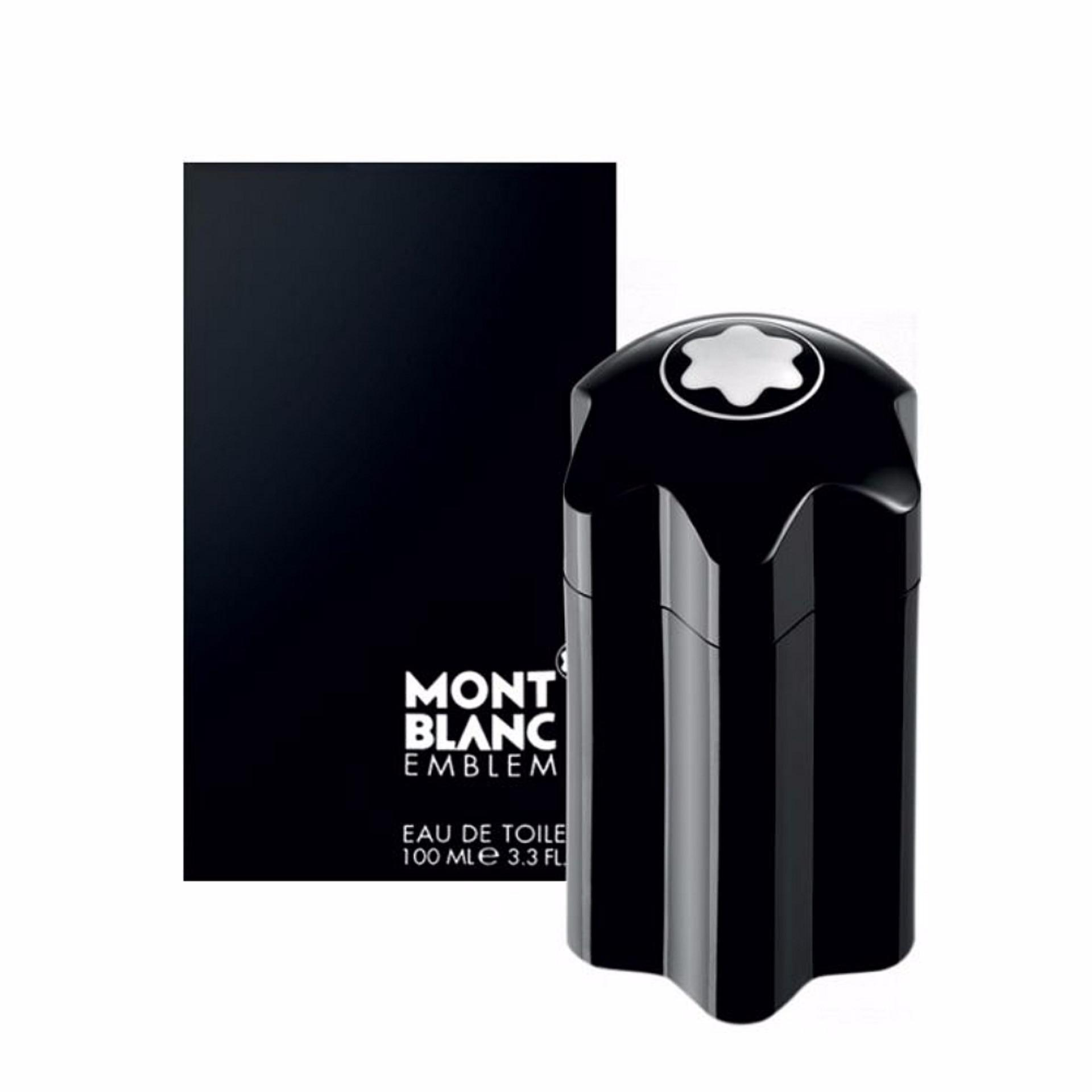 Mont Blanc Emblem Black Eau de Toilette for Men 100ml product preview, discount at cheapest price