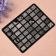 Nail Stamping Printing Plate Image Stamps Plate Nail Art Decor Manicure - intl Philippines