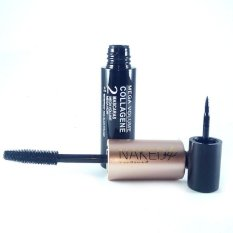 Naked 4 Kiss Beauty Mega Volume Collagene 2 Mascaras Mega Volume/Noir Philippines