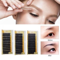 Natural False Eyebrow Extension Fake Eyebrow Enhancer Individual Artificial Eyebrows 10mm - intl Philippines