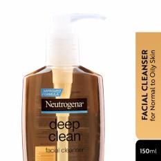 [FACIAL CLEANSER] Neutrogena Deep Clean Cleanser 150ml