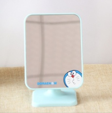 New high definition single side cosmetic mirror, desktop cartoon colorful dressing mirror, portable large square - intl Philippines