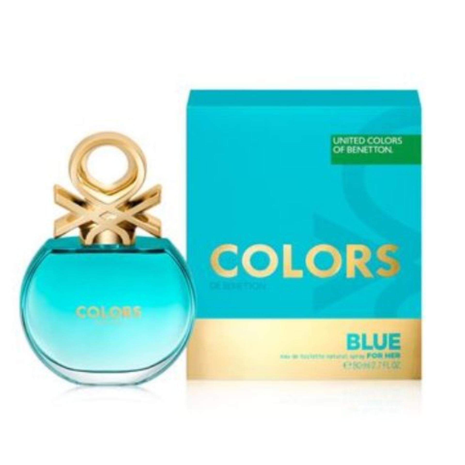 NEW United Colors of Benetton Colors Blue for her  80ml