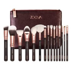 NEW zoeva 15 PCS ROSE GOLDEN COMPLETE MAKEUP BRUSH SET with package (brown) Philippines