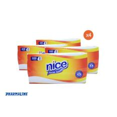 Nice Facial Tissue 2 Ply 200 Sheets 4 Packs Philippines