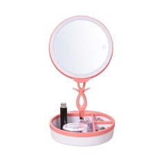niceEshop Multifunction Portable Led Cosmetic Mirror Rechargeable Table Lamps Jewelry Organizer - intl Philippines