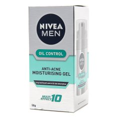 Nivea Men Oil Control Anti-Acne Moisturizing Gel 50g By Watsons Personal Care Stores.