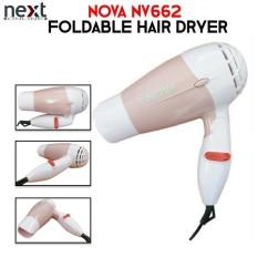 NOVA NV662 Foldable Mini Travel Hair Dryer Compact Blower (Lemonade Pink) 24018ae15f