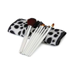 OEM Professional Make Up Brush - 7 Buah + Pouch Multiwarna