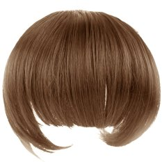 One Piece Full Bangs Neat Fringe Hairpieces Clip in Hair Extensions Wigs Accessories