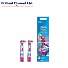 Oral-B EB10-2K FROZEN Stages Power Kids Electric Toothbrush Replacement Heads - intl