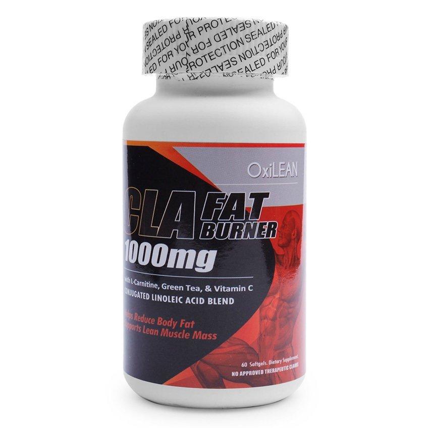 OXILEAN CLA Fat Burner 1000mg Softgels Bottle of 60 - thumbnail