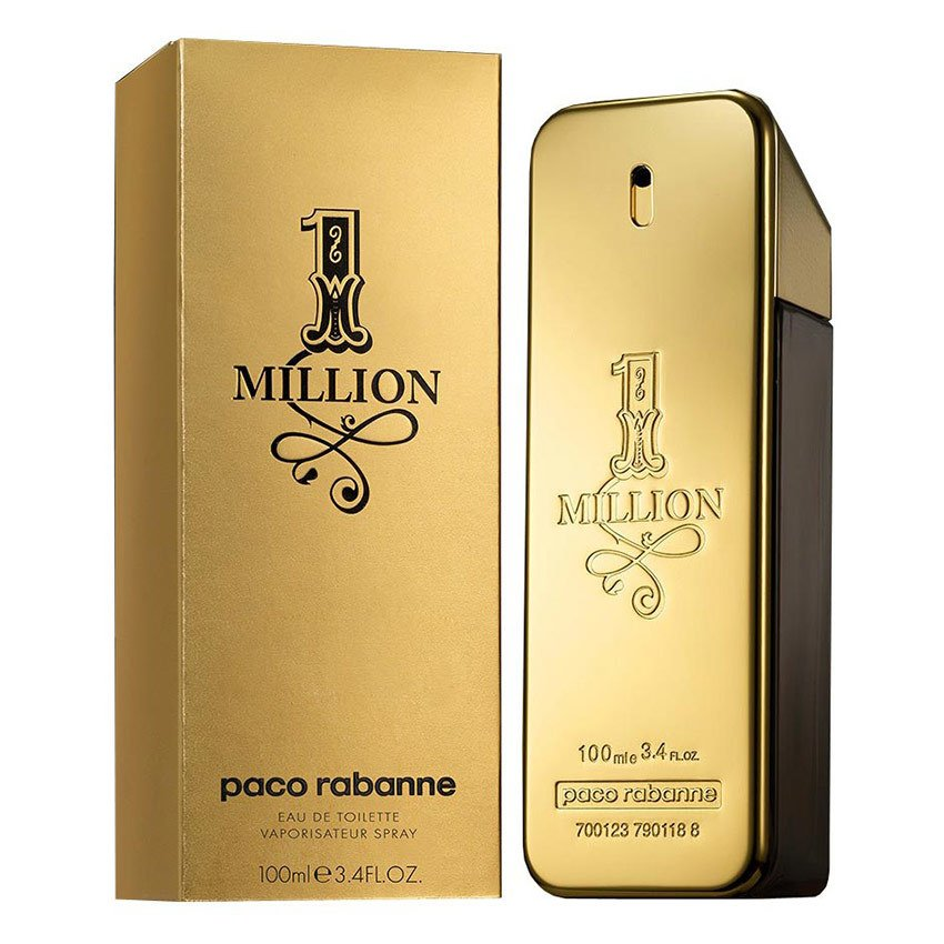 Paco Rabanne One Million Eau de Toilette for Men100ml product preview, discount at cheapest price