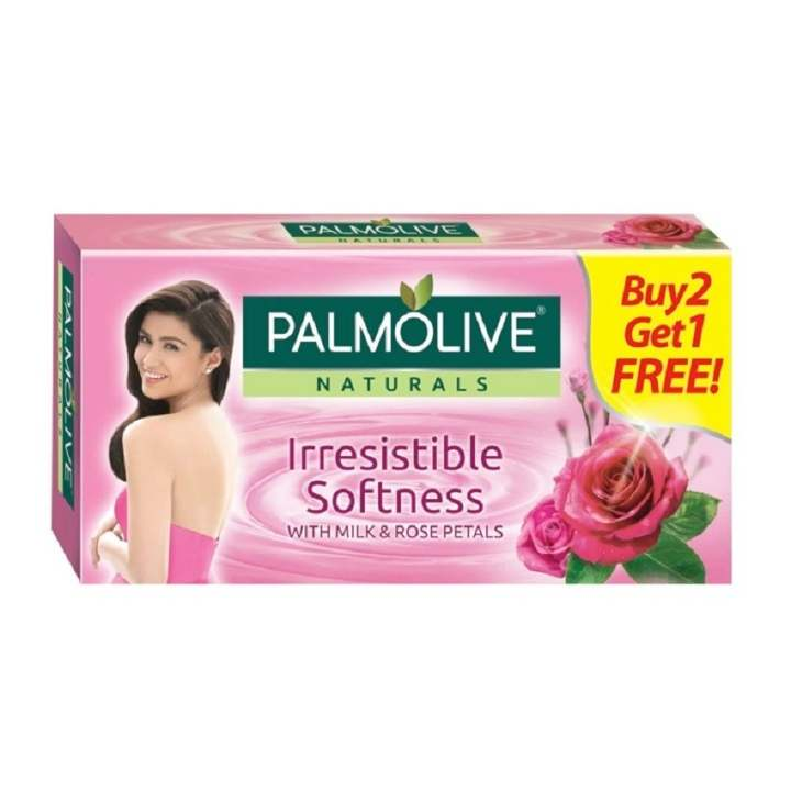 Palmolive Naturals Irresistible Softness Beauty Bar 115g Value Pack. Buy 2, Get 1 Free